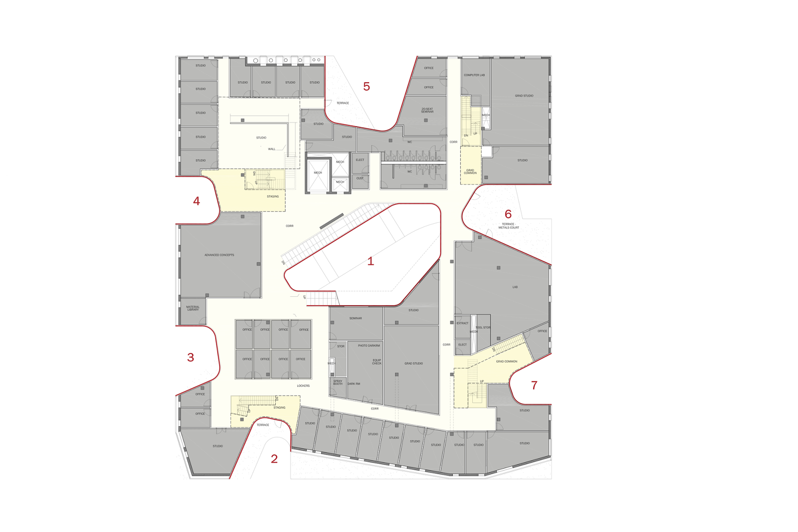 A F A S I A Steven Holl Architects