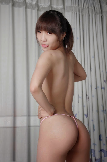 Nude Model Shows Off Her Perky Asian Ass And Naked Body indianudesi.com