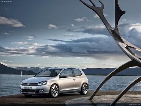 Novo carro da Volkswagen Golf