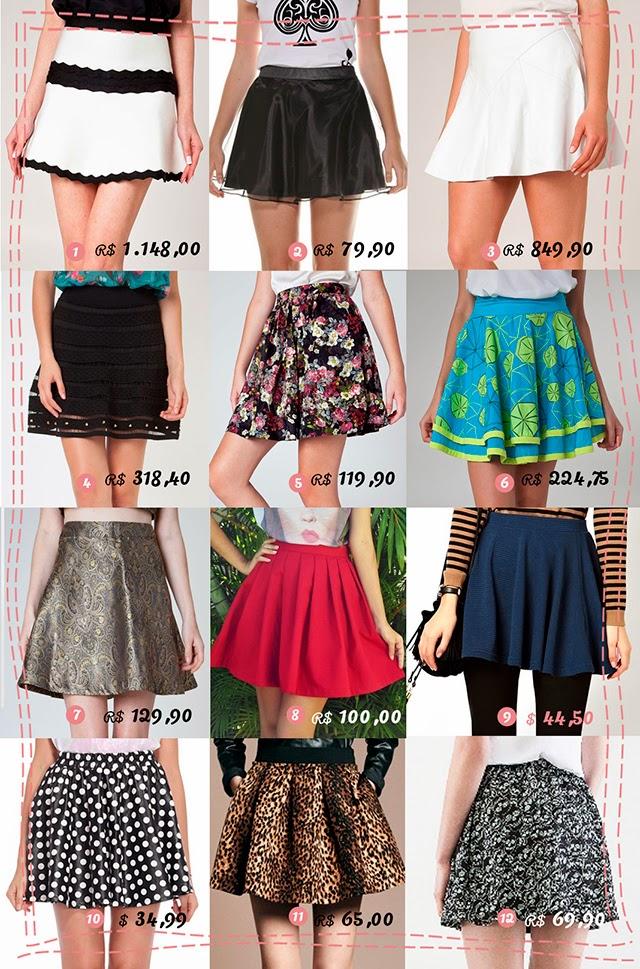 renner, moda, saia estilo, preço, bonita, brasil
