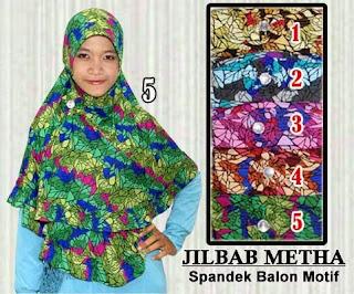 Jilbab instan murah dan cantik spandek balon