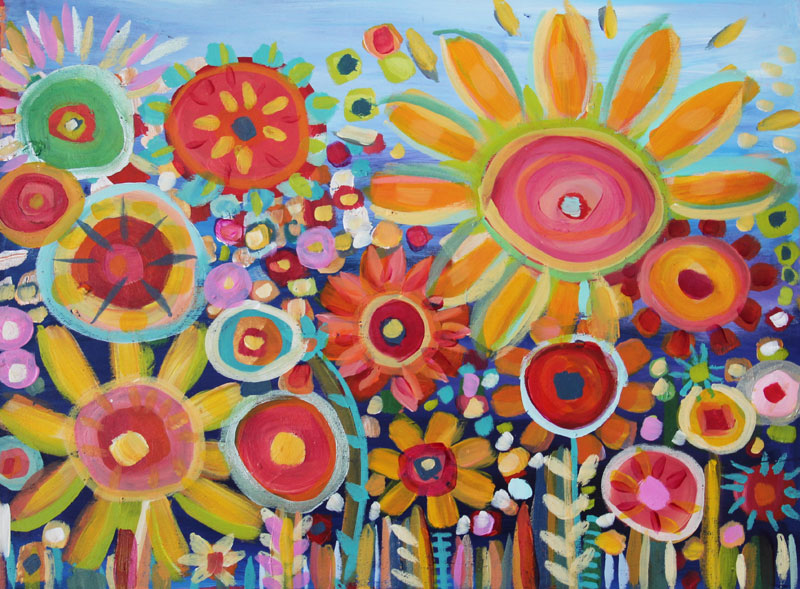 Fine Art Spring Flowers