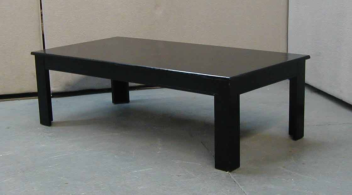 Dark Wooden Coffee Table ~ Rose wood furniture black coffee table