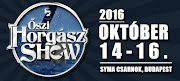 Őszi Horgász Show - Budapest, 2016. okt.-14-16.