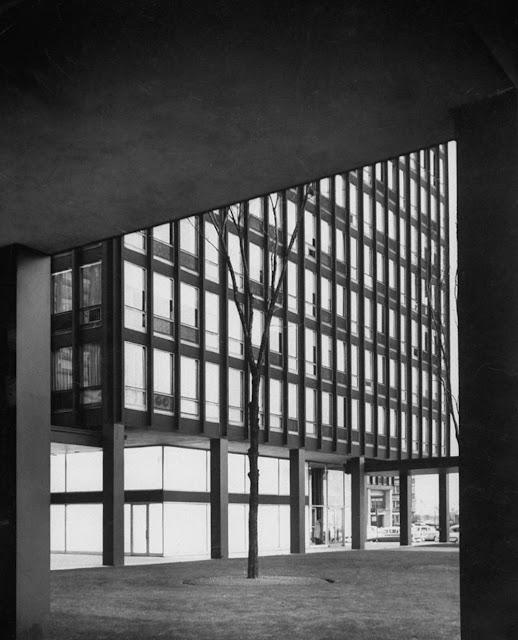 Lakeshore glass steel chicago mies van der rohe for Lakeshore design builders