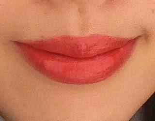 Etude House Color Pop in Sunny Pop Lip Swatch