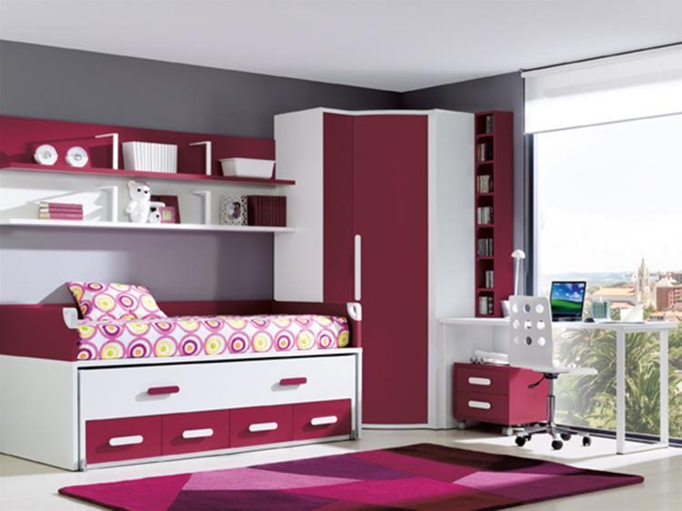 Dise os de closets para habitaciones juveniles for Closet habitaciones modernas