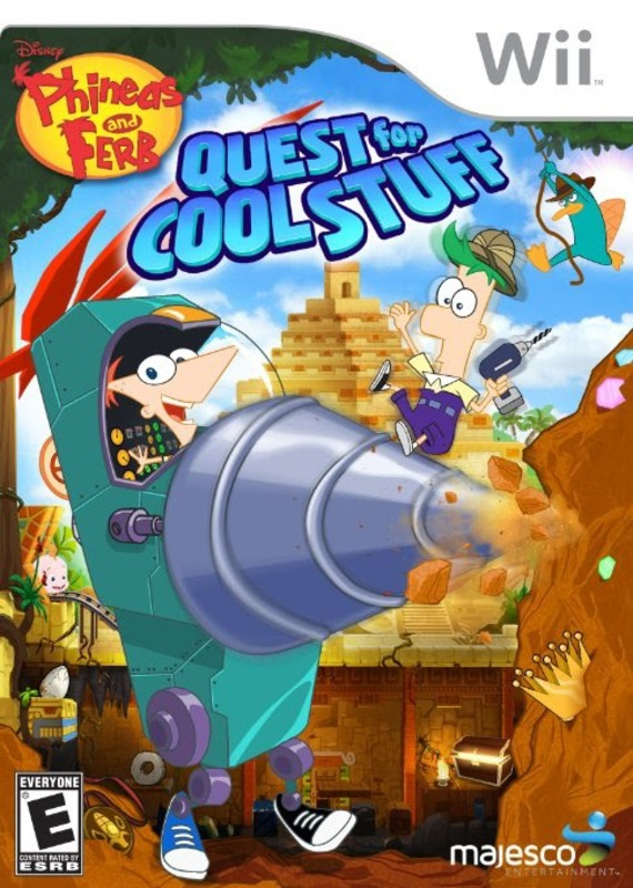 Phineas And Ferb Quest For Cool Stuff [Multi5][Uploaded+Torrent]