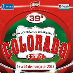 capa Colorado Rodeio 2013