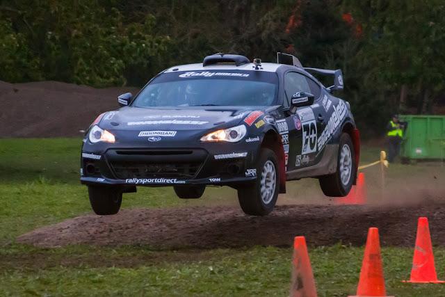 Subaru BRZ, rajdy, rally, sportowe auta