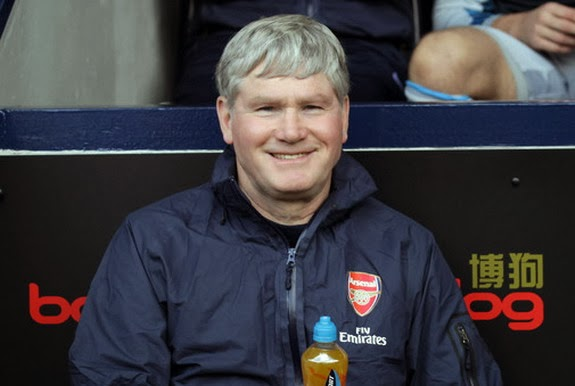 Pat Rice had a key role for Arsenal's successes in the 1990s and 2000s
