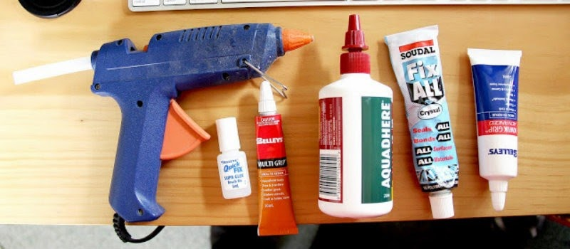 19 Things You Should Never, Ever Throw In the Trash!! - Glue and adhesives