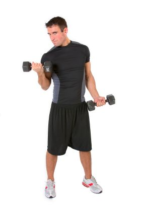 Dumbbell exercises form an integral part of most strength training