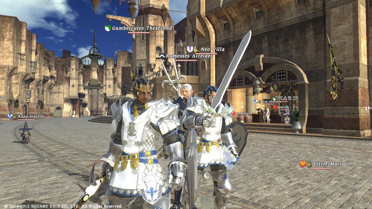 FFXIV Paladin Armor Sets