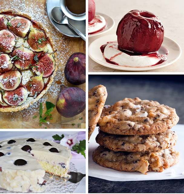 Dessert recipes from Pinterest