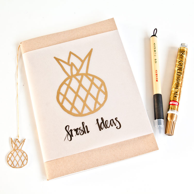 get the gold look with Krylon Leafing Pens