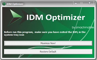 Cara Mempercepat Download IDM – IDM Optimizer