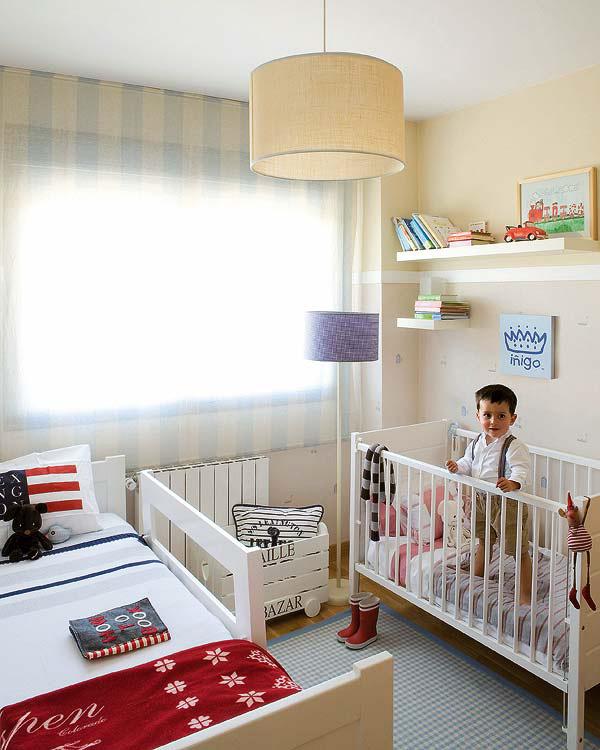 Cuando dos hermanit s de diferentes edades tienen que - Decoracion habitacion de bebe nino ...