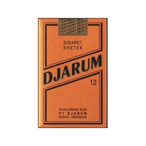 First Launched In 1972 To This Day Djarum Coklat Still Selling Hand