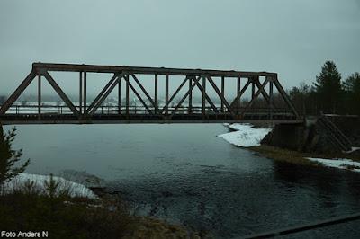 Järnvägsbro, Tornedalen