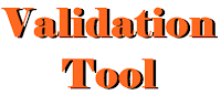 Validation Tool,html validator,validator,validation,error template