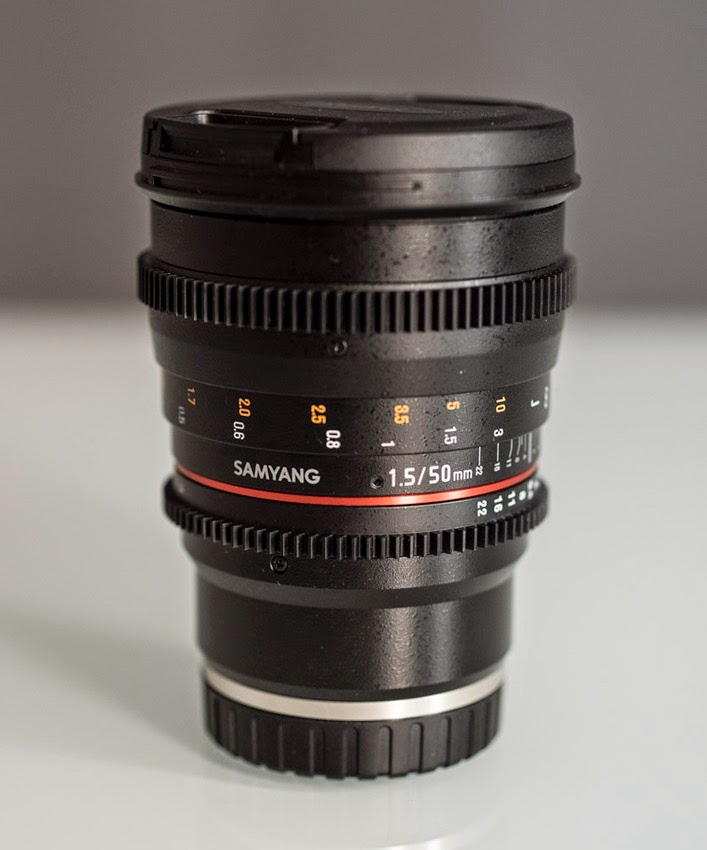 Samyang 50mm T1.5 CINE Lens