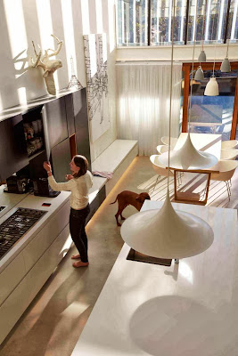 passive energy design for kitchen and dining interior