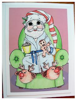 Hot Cocoa Santa