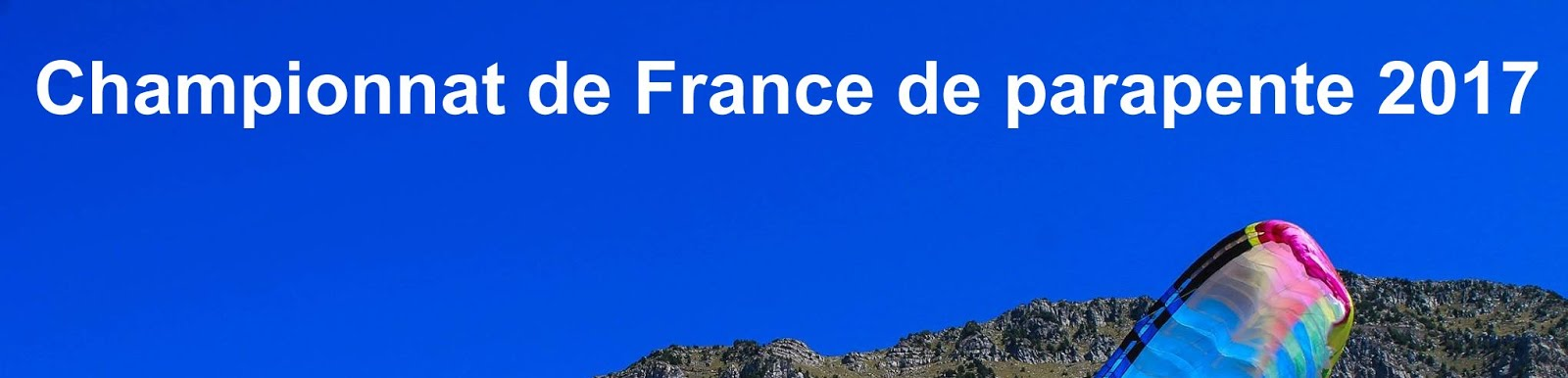 Championnat de France de Parapente 2017