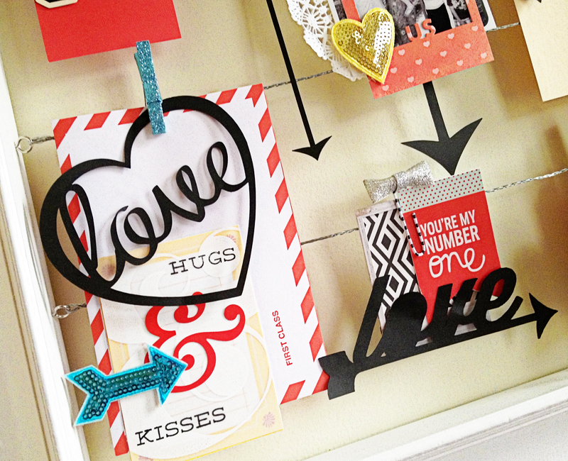 Paper Fab: Valentine Decor Frame