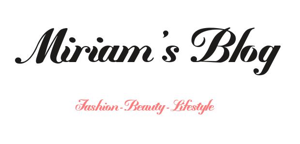 Miriam's Blog