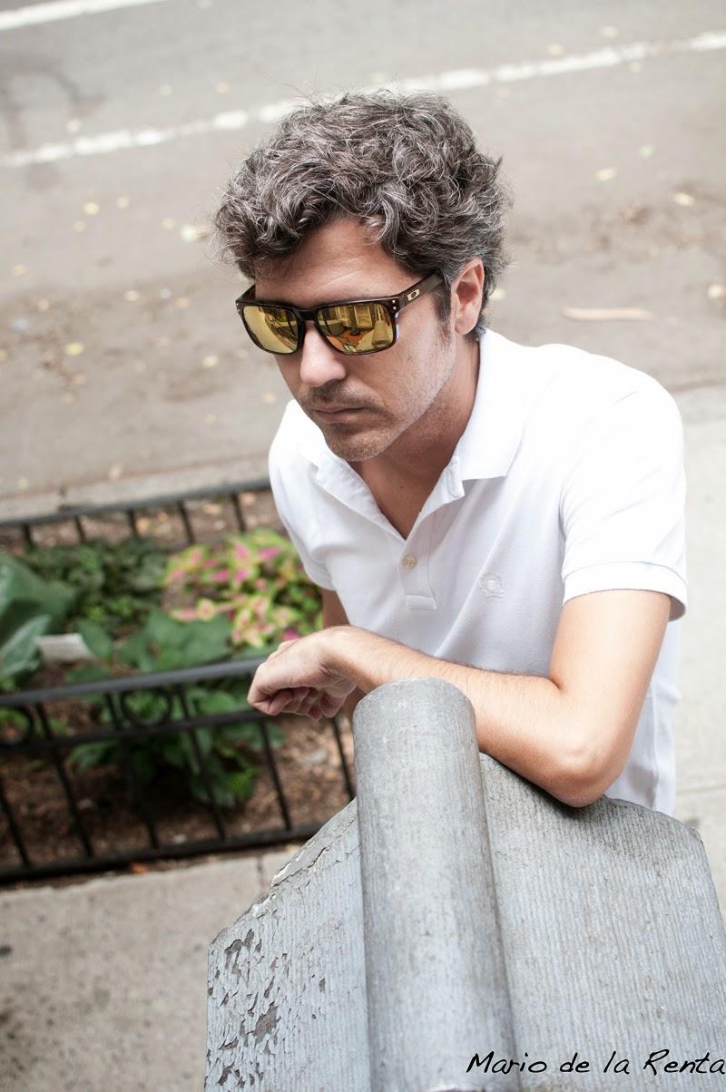 Mr de la Renta at the city