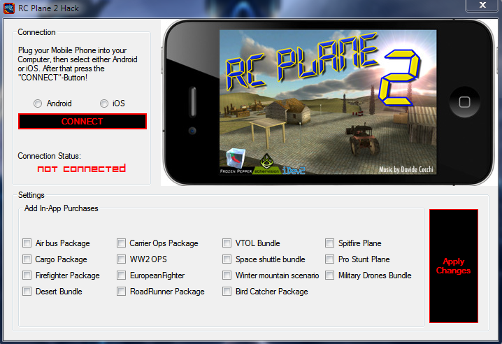 RC PLANE 2 IPHONE ANDROID IOS ITUNES FREE HACK CYDIA NO JAILBREAK TOOL