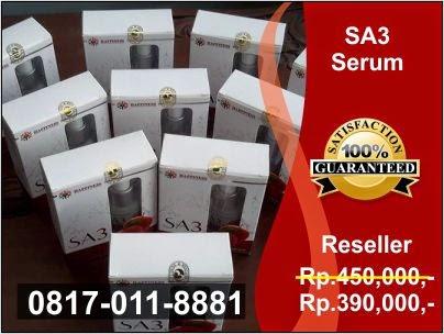 Agen dan Distributor Resmi Jual Serum Apel SA3 PT Happinessindo di Jakarta, Bogor, Depok, Tangerang, Bekasi, Bandung, Medan, Surabaya, Batam, Palembang