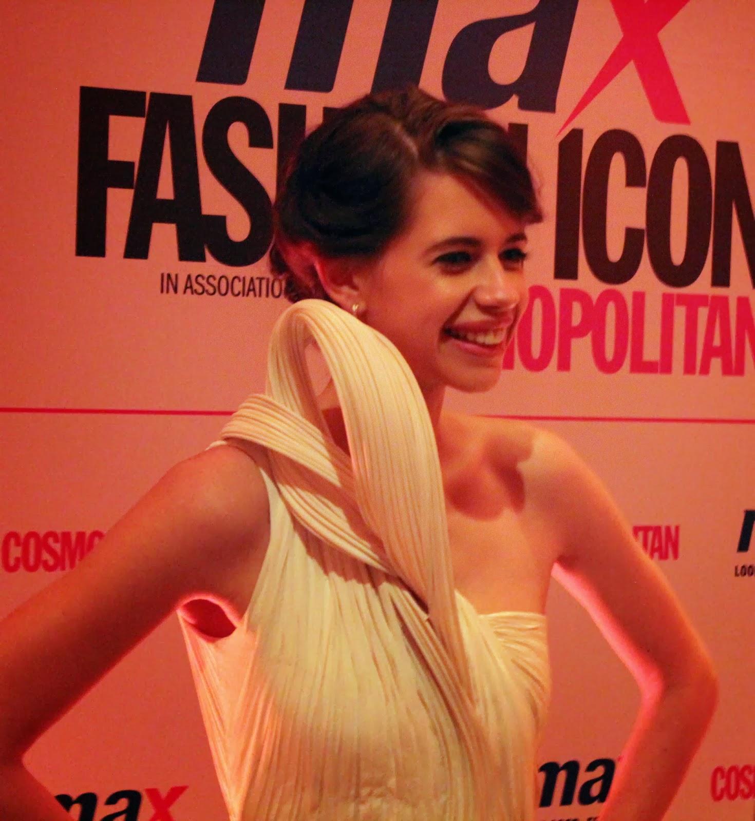 Kalki Koechlin - MAX Fashion Icon 2014 In Collaboration  With Cosmopolitan Magazine Grand Finale - All Pictures, Uncut Version