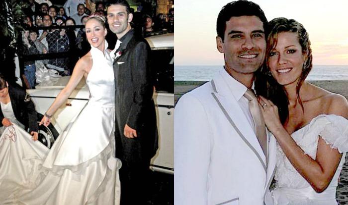 vestido de novia de adriana lavat - boda