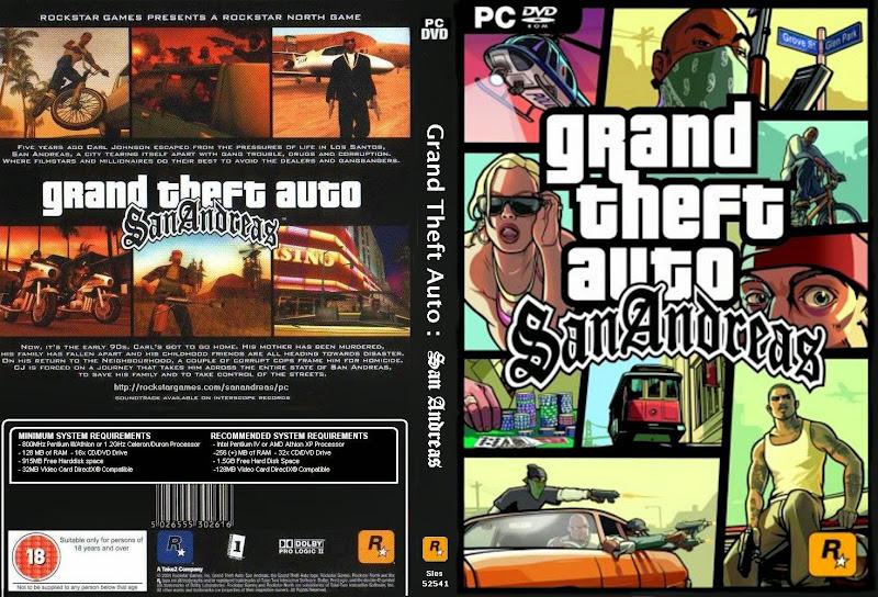 GTA San Andreas Capa