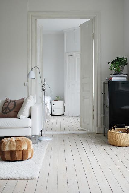 Nostalgiecat White Washed Floorboards