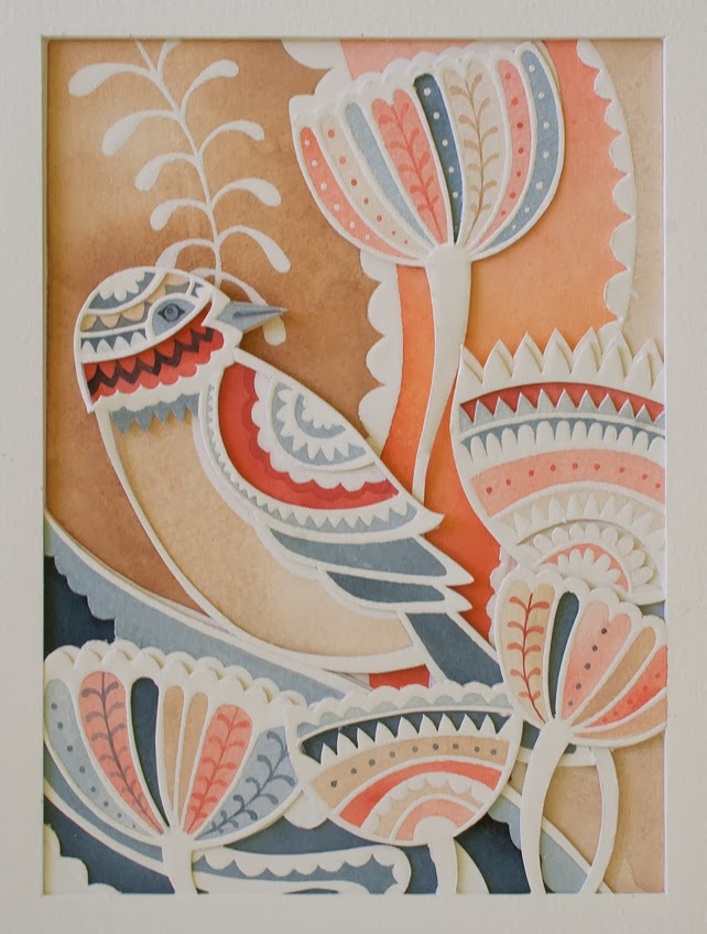 http://folksy.com/items/5277321-Paper-cut-Watercolour-Layered-Sunset-Bird-Artwork-Perfect-for-Valentines