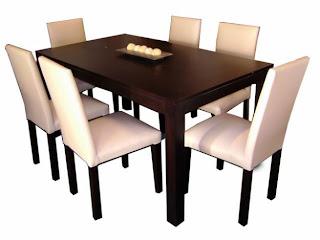 A flor de piel nuestro nuevo juego de comedor cambio mi for Juego de comedor 4 sillas moderno