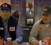 Instigante e provocativa campanha da Pepsi à Coca-Cola nos anos 90.
