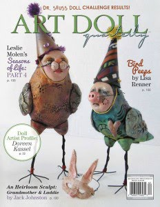 summer issue 2016 Art Doll Quarterly