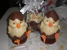Ovos de Páscoa - Chocolate branco e ao leite
