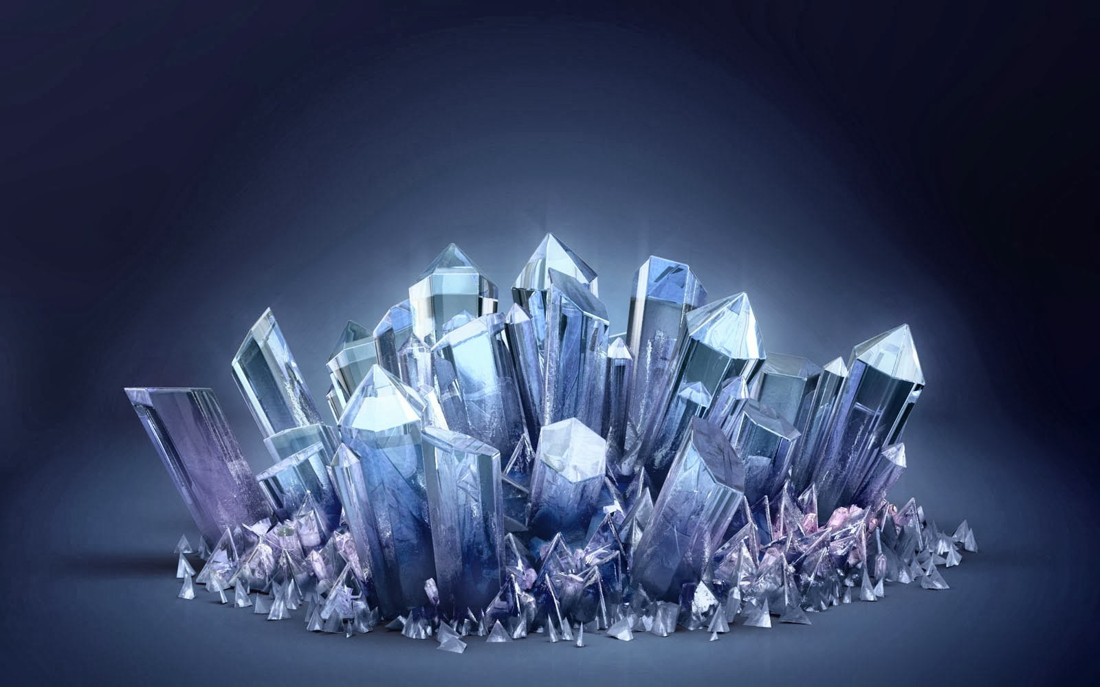Crystals HD Wallpapers for iPhone