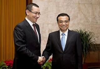 vizita premier chinez china ponta romania