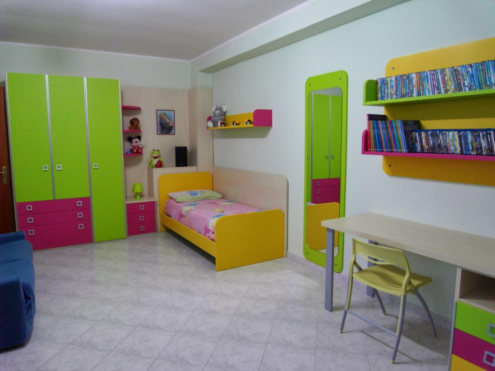 Arredamenti gargante camerette per bimbi for Abitare arredamenti camerette