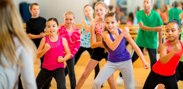 7 attivitá di fitness, danza ed hip hop che i bambini amano