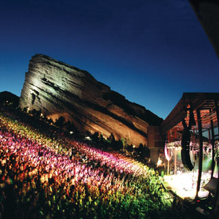 Red rocks concerts