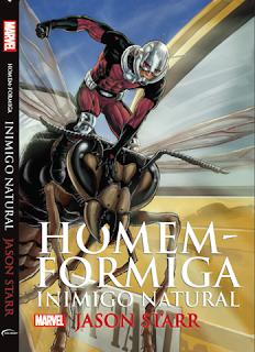 Homem-Formiga: inimigo natural (Jason Starr)