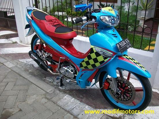 Modifikasi Motor Jupiter Z Bidak Catur by Rifki Agriyanto title=